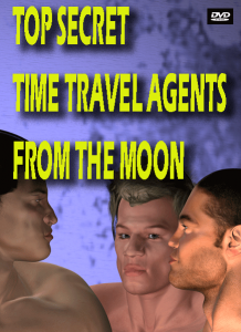 DVD cover for direct-to-video movie revealing secrets of the time travel agency known as MMDI